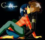 Coraline and Wybie Kissu