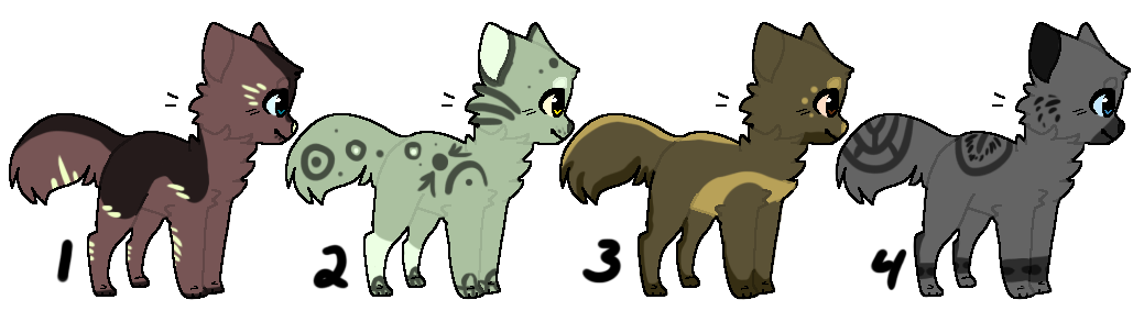Kitty batch 1 ~3/4 OPEN~ by guardianhawkpool