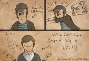 Wii Thin by artonaSTICK