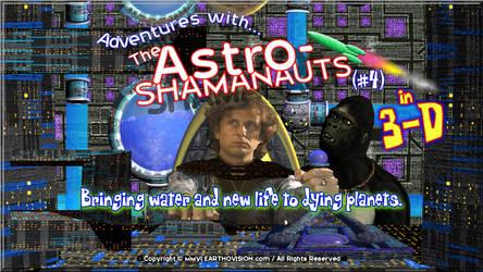 Astro-Shamanauts (04) 3D-Poster by AstroShamanauts