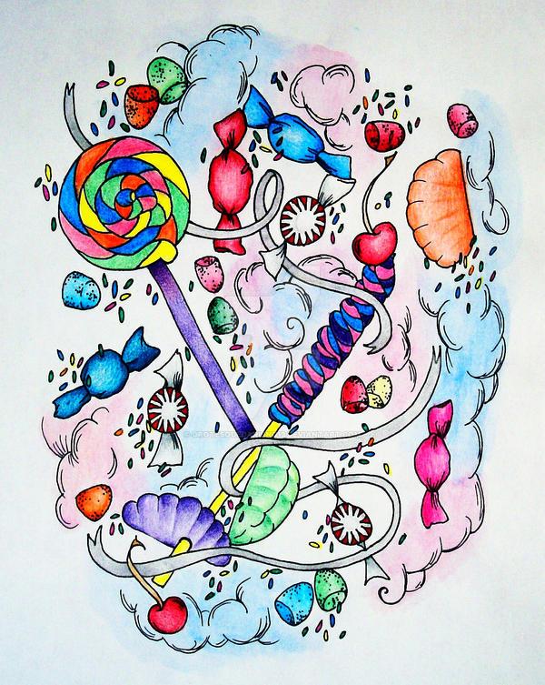 Candy Fun by GrotesqueDarling13
