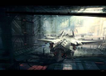 Hangar by Hideyoshi