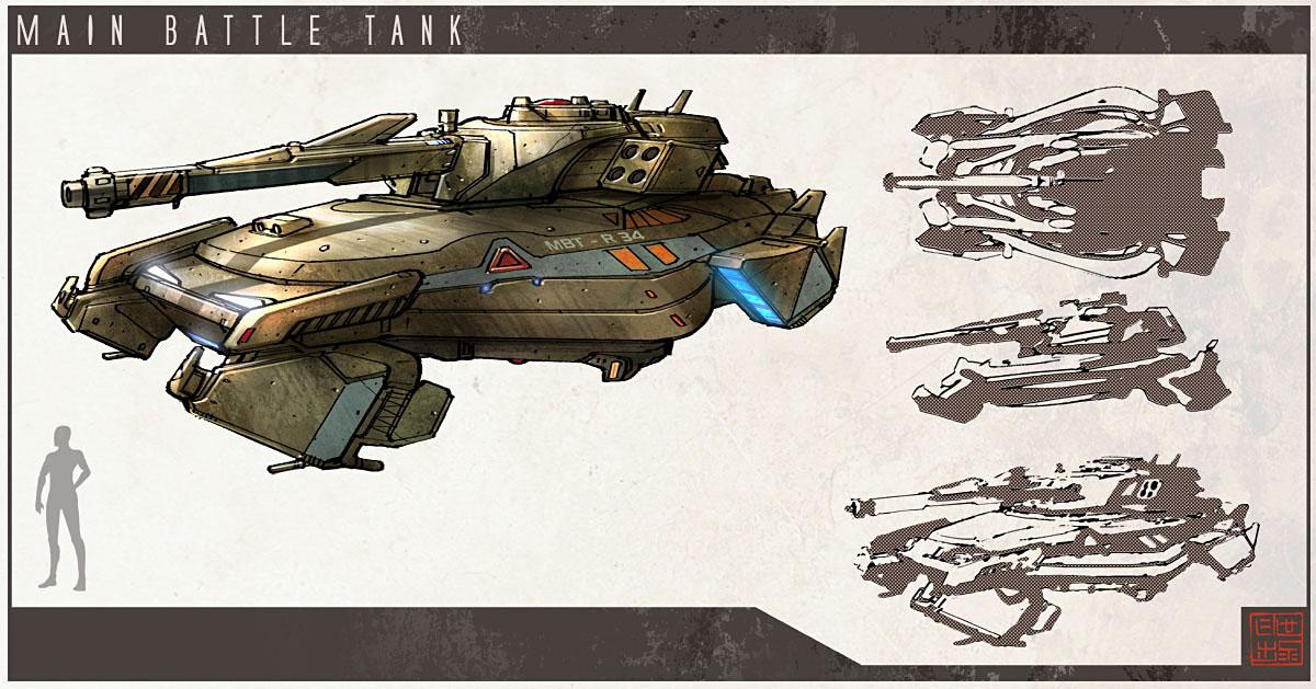 IDW - Main Battle Tank by Hideyoshi