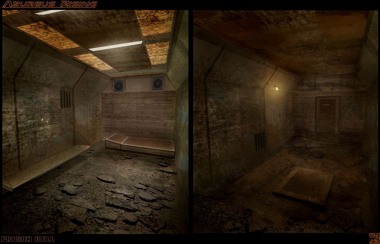 Azureus Rising - Prison Cell by Hideyoshi