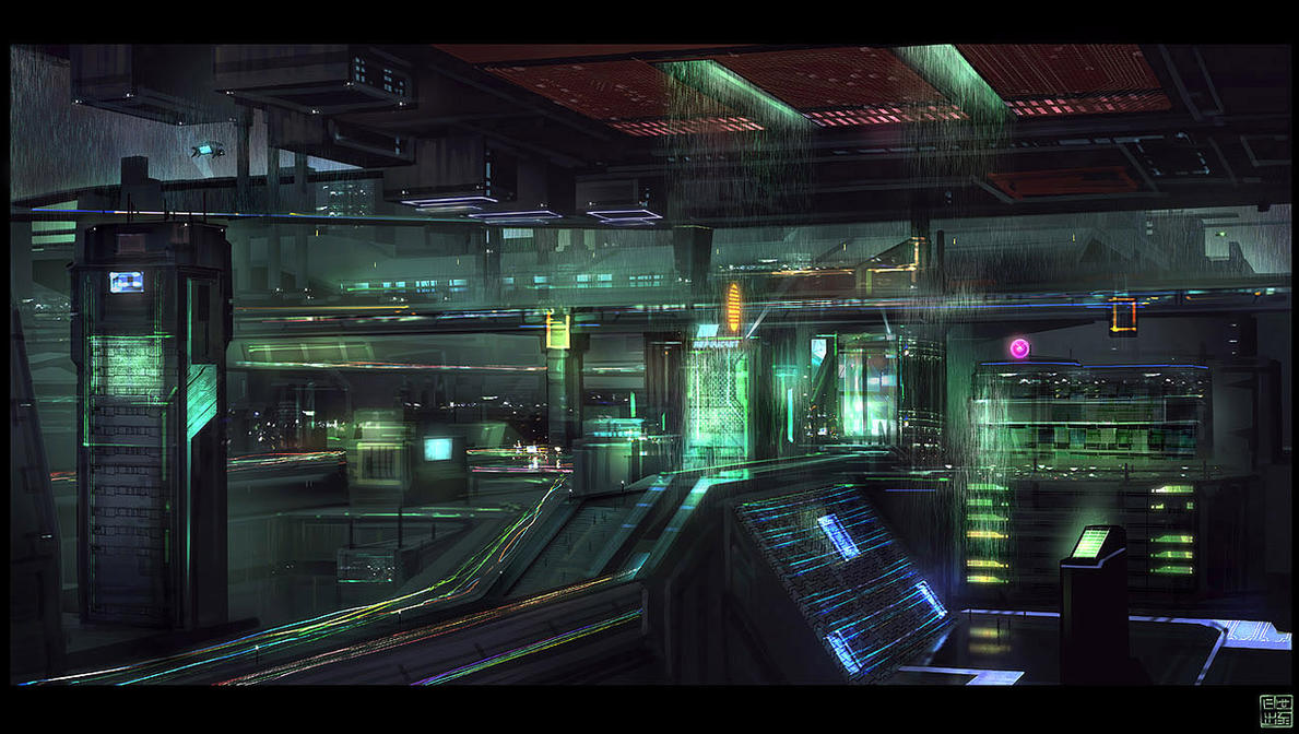 Blade Runner tribute by Hideyoshi