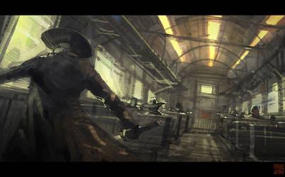 Train Station - Episode 5 by Hideyoshi
