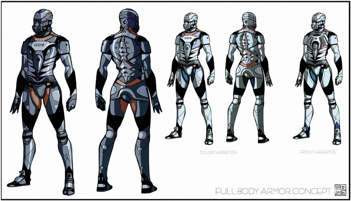 Light armor suit concept by Hideyoshi on DeviantArt