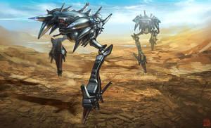 Hyper G One - Alien Walkers