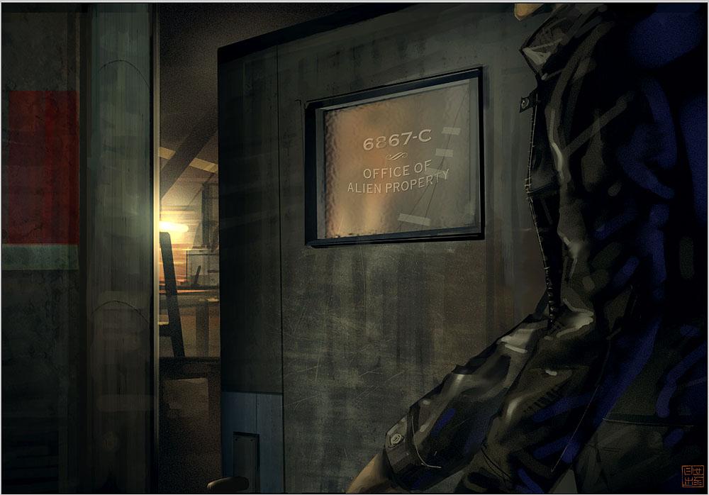 Hyper G One - Alien Office by Hideyoshi