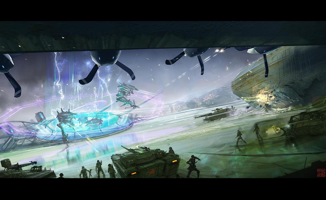 Hyper G One - Confrontation by Hideyoshi