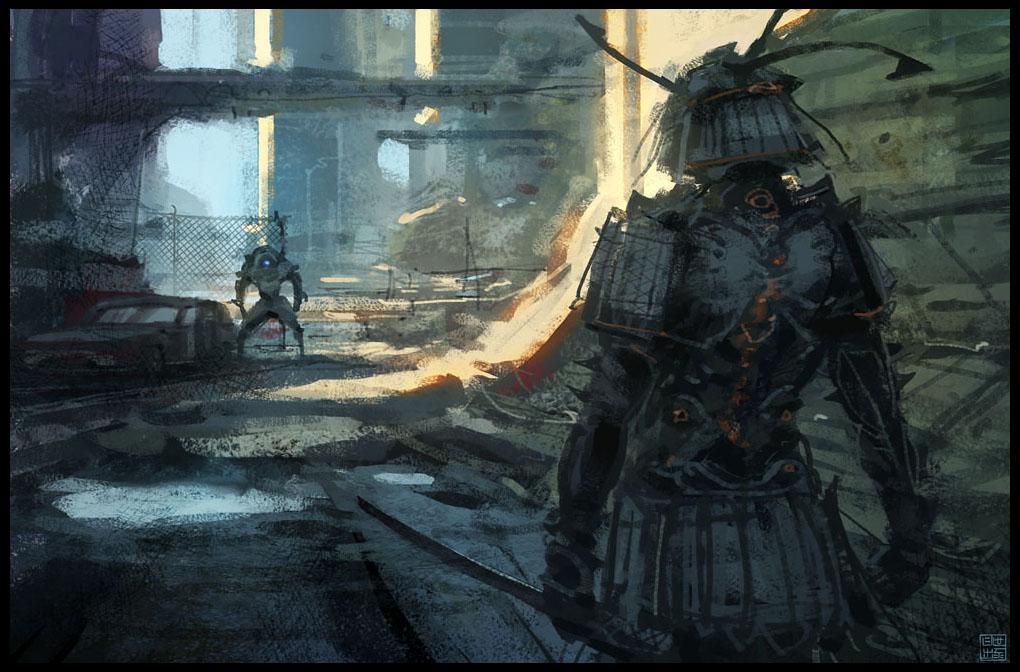 Samurai by Hideyoshi