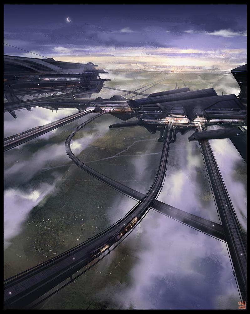 Skytrain Complex by Hideyoshi