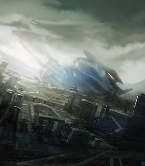 Spaceship Crashsite