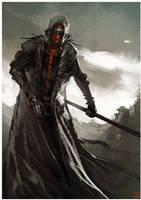 Blood Moon Monk by Hideyoshi