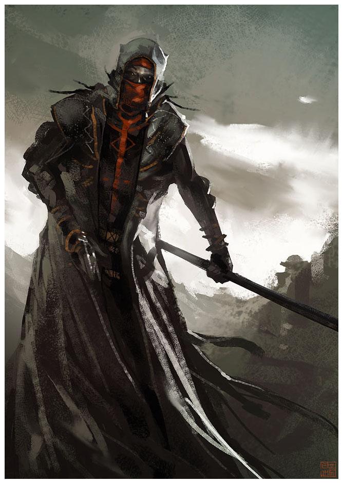 Blood Moon Monk