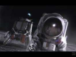 Apollo 11 by Hideyoshi