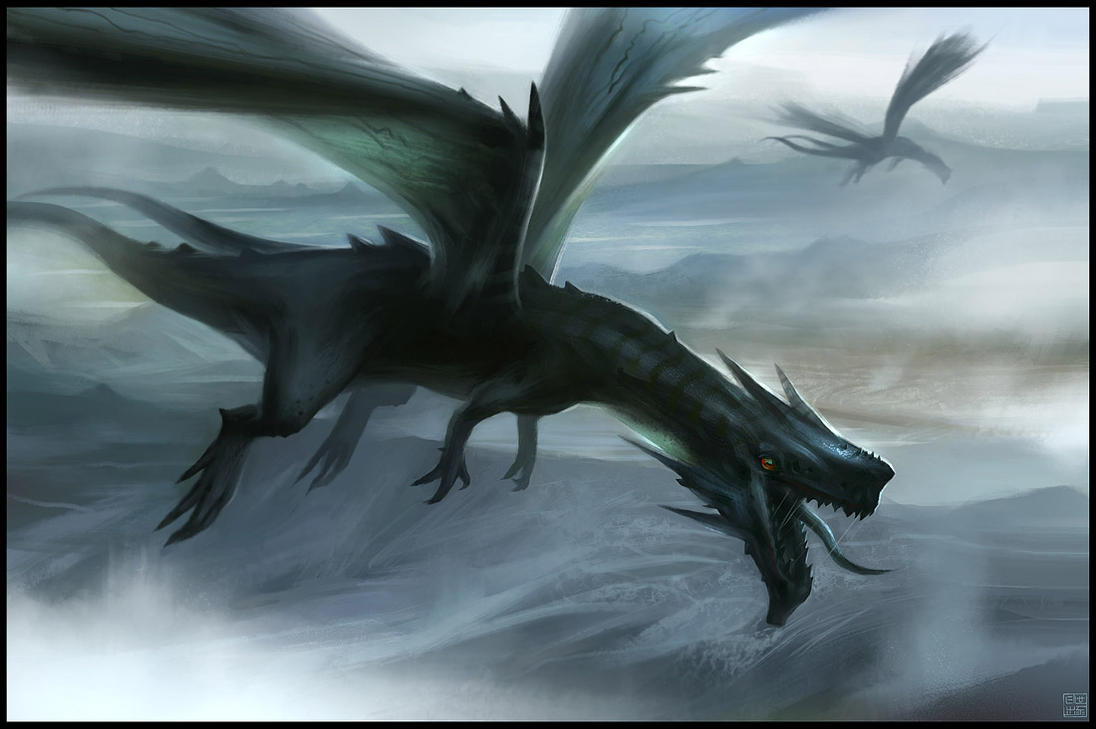 Dragon Flight By Hideyoshi On DeviantArt