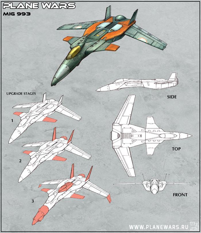 Plane Wars - Mig-993 by Hideyoshi