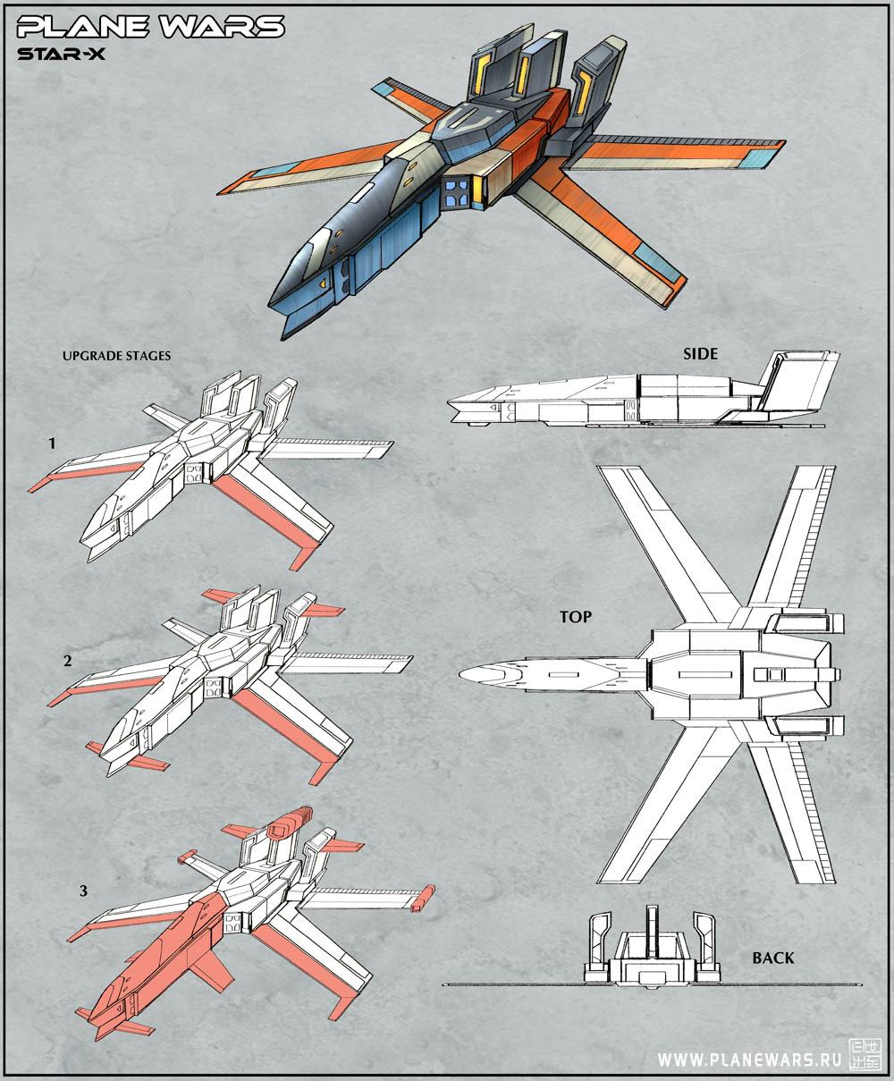 Plane Wars - Star X by Hideyoshi