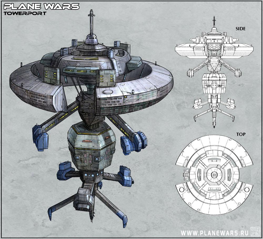 Plane Wars - Towerport by Hideyoshi