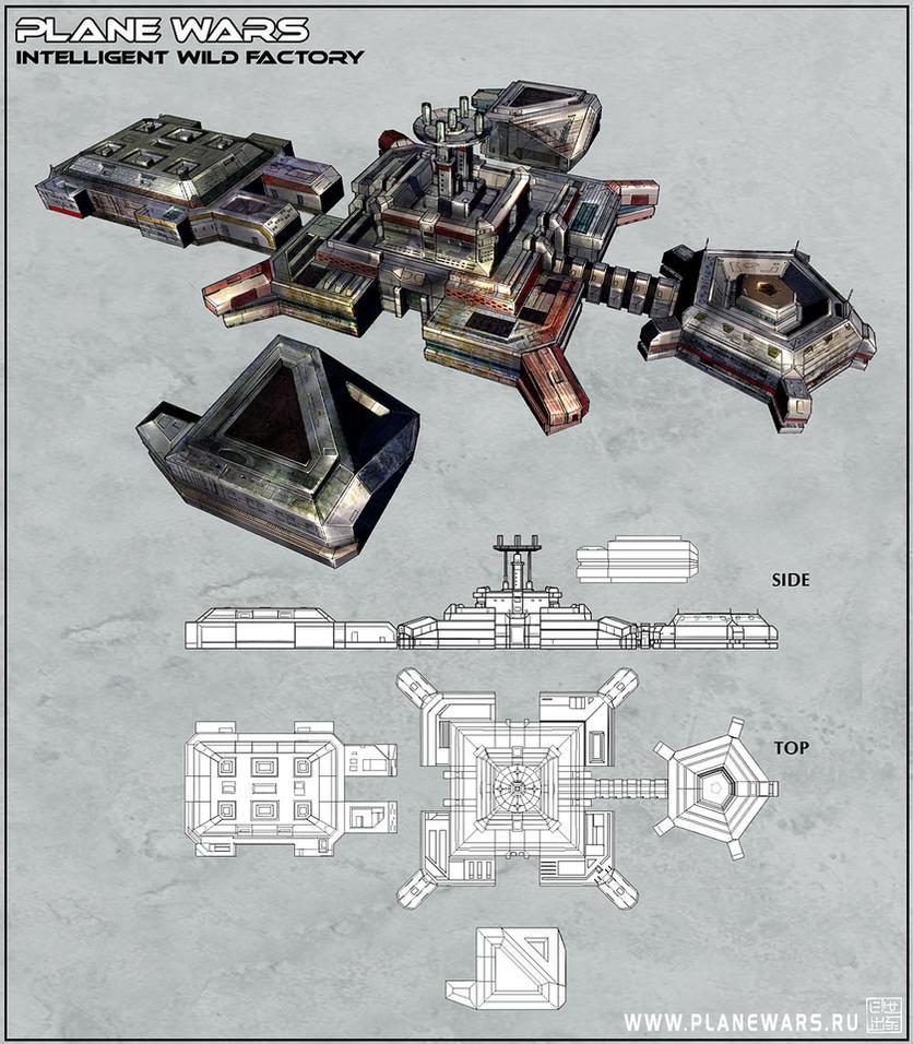 Plane Wars - Factory by Hideyoshi