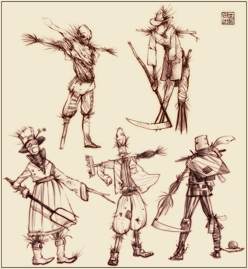 Wizard of Oz - Scarecrow by Hideyoshi