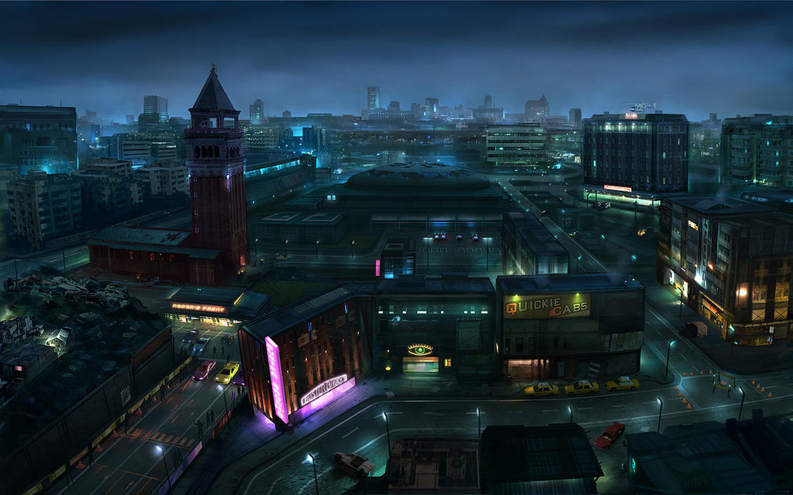 Immortal Souls - Slum District by Hideyoshi