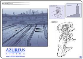 Azureus Rising - Wall Area by Hideyoshi