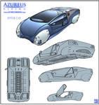 Azureus Rising - Hover Car