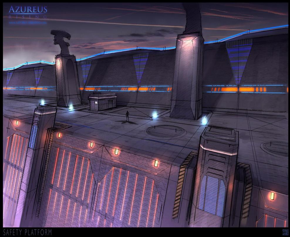 Azureus Rising - Platform by Hideyoshi