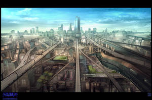 Azureus Rising - City Vista 2 by Hideyoshi