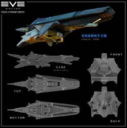 EVE Online - Sharkfin by Hideyoshi