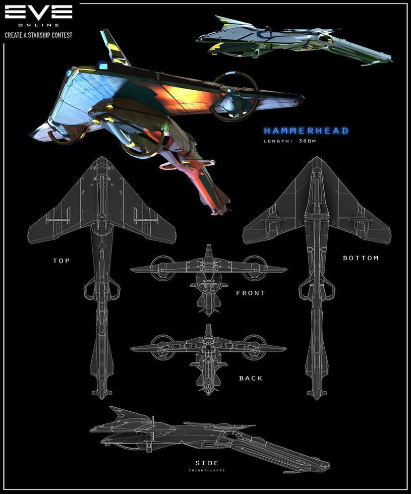EVE Online - Hammerhead by Hideyoshi