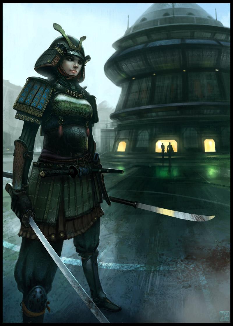 Samurai Girl by Hideyoshi