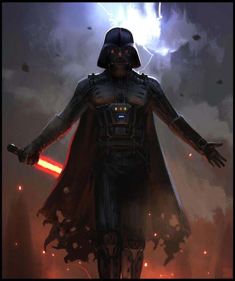 Darth Vader by Hideyoshi