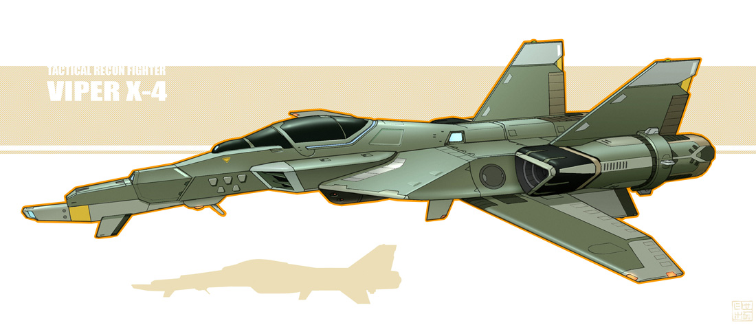 TR Fighter - Viper X-4 by Hideyoshi