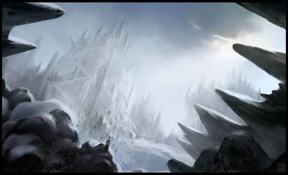 Snow Castle by Hideyoshi