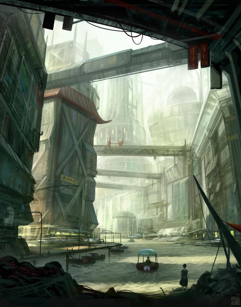 Shanghai 2112 by Hideyoshi