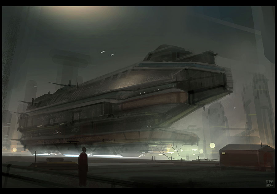 Steam Airship by Hideyoshi