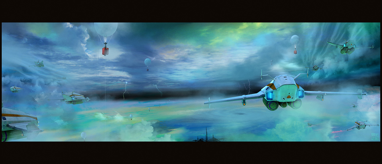 Eclipse Phase Rimward - Cloud Skimming by Hideyoshi