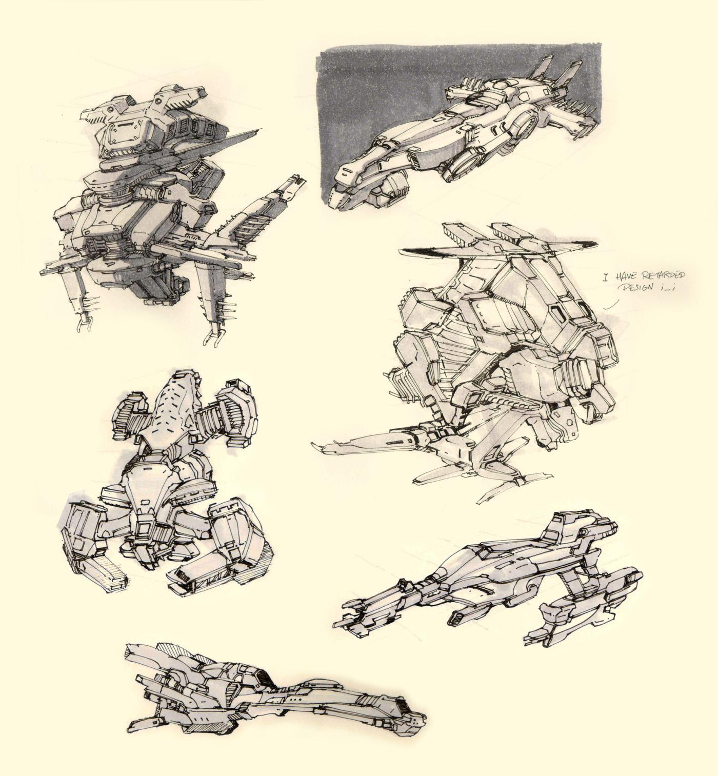 Marker sketches 1 by Hideyoshi