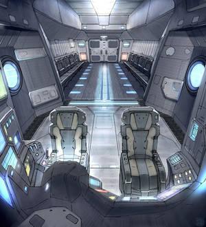 Star Fall Drop Ship Interior