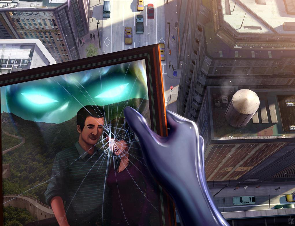The Silver Ninja - Broken Frame by Hideyoshi