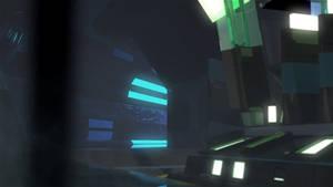 Space Ship interior - animation