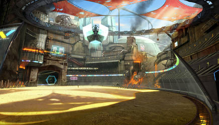 Heavy Gear Assault - Arena concept
