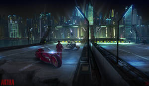 AKIRA Highway Concept