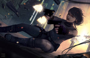 Mercenary - Transhuman Eclipse Phase by Hideyoshi