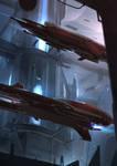 Hangar II - Red Lanterns