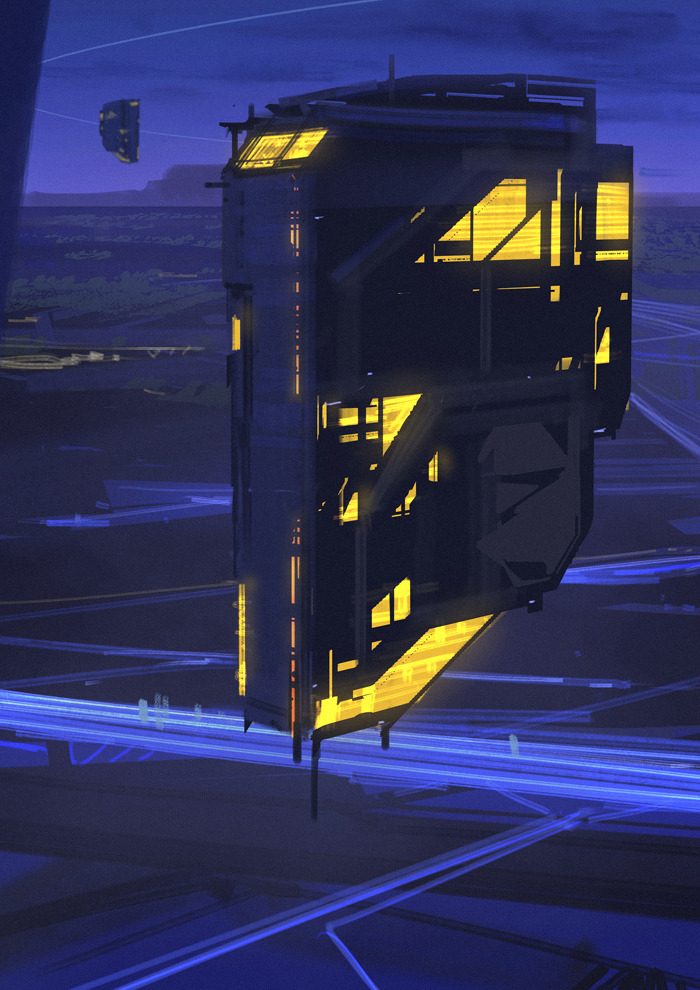 Flying House by Hideyoshi