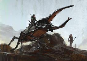 Hercules Beetle by Hideyoshi